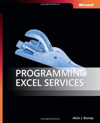 9780735624078: Programming Excel Services