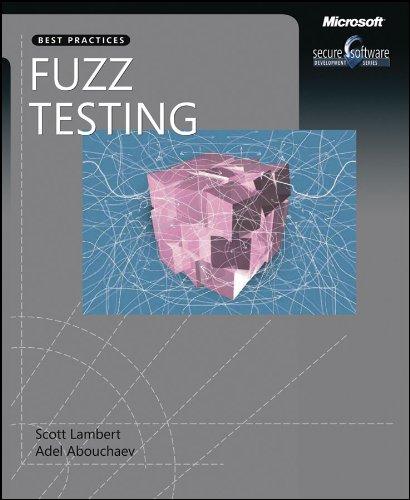 9780735624153: Fuzz Testing (Pro - Developer)