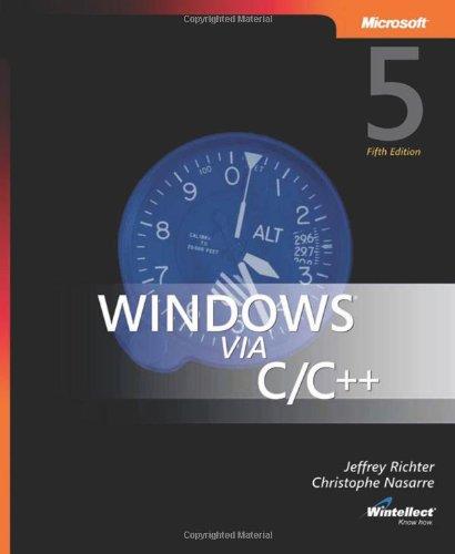 9780735624245: Windows via C/C++
