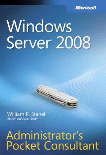 9780735624375: Windows Server® 2008 Administrator's Pocket Consultant