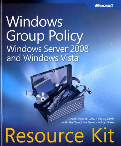 9780735625143: Windows® Group Policy Resource Kit: Windows Server® 2008 and Windows Vista®