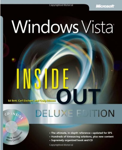 9780735625242: Windows Vista Inside Out, Deluxe Edition