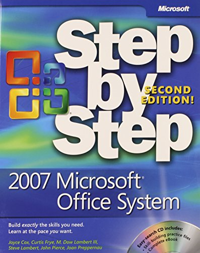 9780735625310: 2007 Microsoft© Office System Step by Step, Second Edition