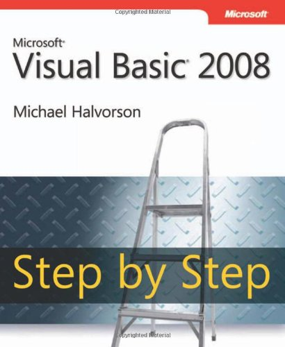 9780735625372: Microsoft Visual Basic 2008 Step by Step Book/CD Package
