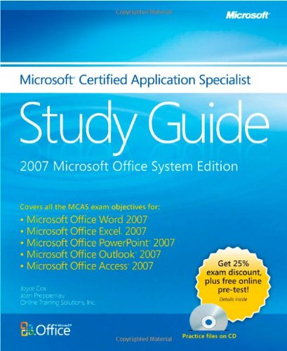 9780735625488: Microsoft® Certified Application Specialist Study Guide: 2007 Microsoft Office System Edition (EPG-Other)