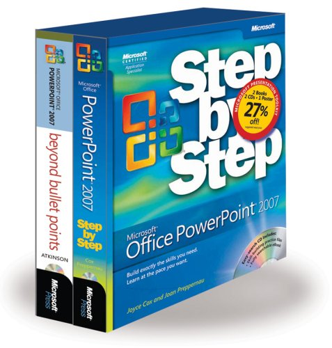 9780735625877: The Presentation Toolkit: Microsoft Office PowerPoint 2007 Step by Step and Beyond Bullet Points (Business Skills)