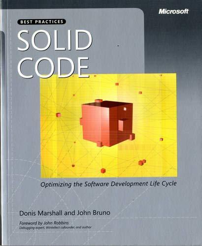 9780735625921: Solid Code (Developer Best Practices)