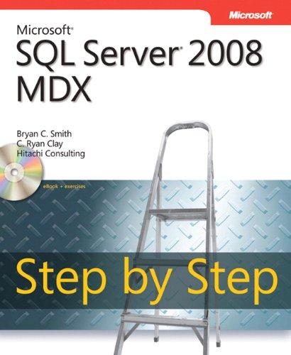 9780735626188: Microsoft® SQL Server® 2008 MDX Step by Step (Step by Step Developer)