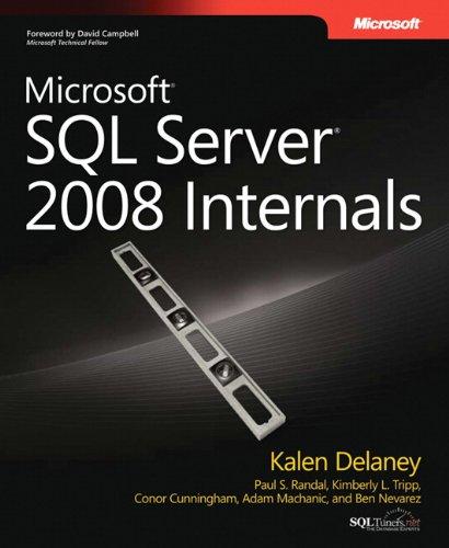 9780735626249: Microsoft� SQL Server� 2008 Internals (Pro Developer)