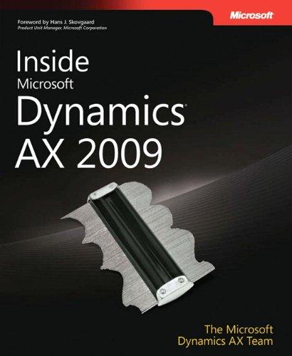 9780735626454: Inside Microsoft Dynamics® AX 2009 (Developer Reference)