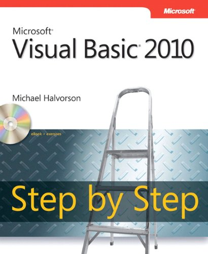9780735626690: Microsoft Visual Basic 2010 Step By Step Book/CD Package