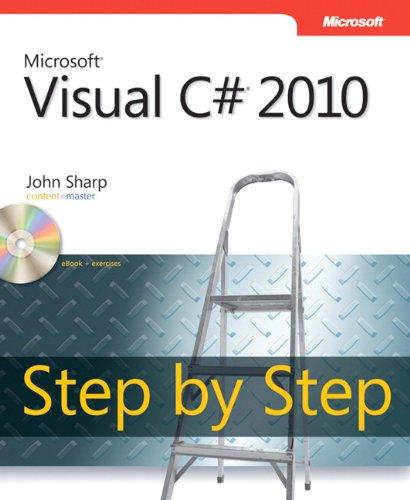 9780735626706: Microsoft� Visual C#� 2010 Step by Step (Step by Step Developer)