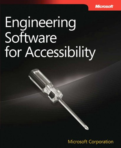 9780735626805: Engineering Software for Accessibility (Developer Reference)