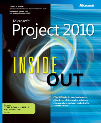 9780735626874: Microsoft Project 2010 Inside Out