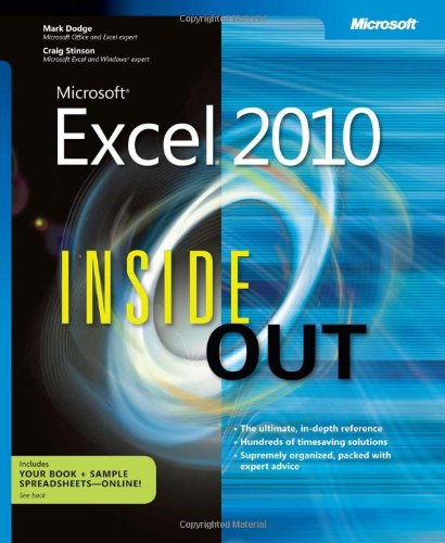9780735626881: Microsoft Excel 2010 Inside Out