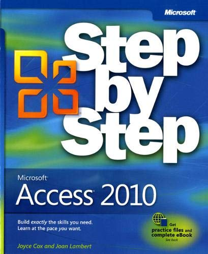 9780735626928: Microsoft Access 2010 Step by Step