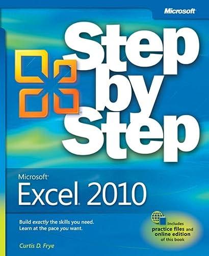 9780735626942: Microsoft® Excel® 2010 Step by Step (Step By Step (Microsoft))