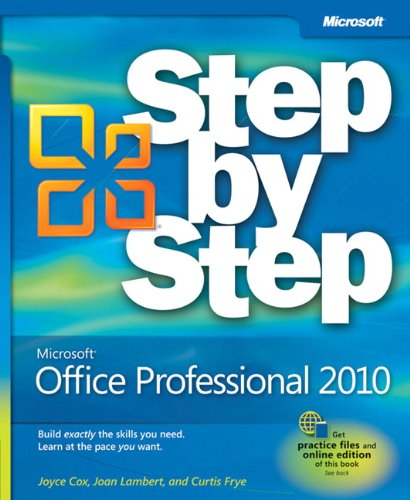 9780735626966: Microsoft® Office Professional 2010 Step by Step (Step By Step (Microsoft))