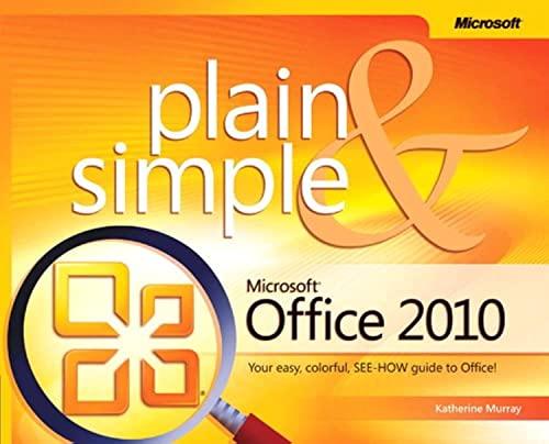 9780735626973: Microsoft® Office 2010 Plain & Simple