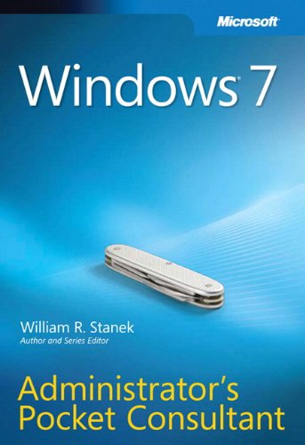 9780735626997: Windows 7 Administrator's Pocket Consultant