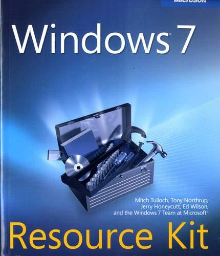 9780735627000: Windows® 7 Resource Kit
