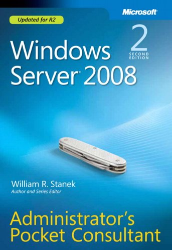 9780735627116: Windows Server� 2008 Administrators Pocket Consultant