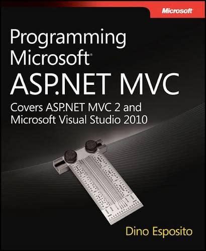 9780735627147: Programming Microsoft� ASP.NET MVC