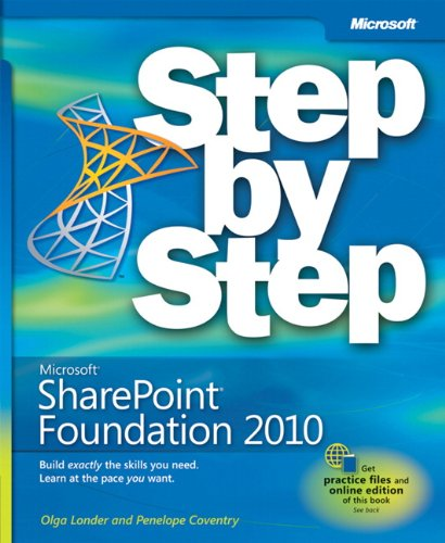 9780735627260: Microsoft SharePoint Foundation 2010 Step by Step