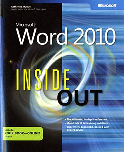 9780735627291: Microsoft® Word 2010 Inside Out