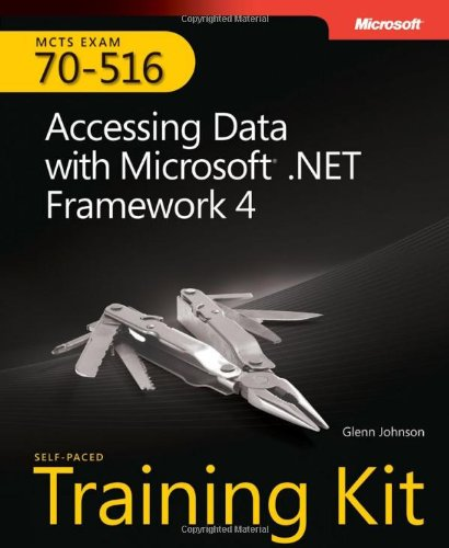 9780735627390: MCTS Self-Paced Training Kit (Exam 70-516): Accessing Data with Microsoft .NET Framework 4 Book/CD Package
