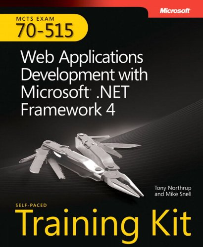 9780735627406: MCTS Self-Paced Training Kit (Exam 70-515): Web Applications Development with Microsoft .NET Framework 4 Book/CD Package
