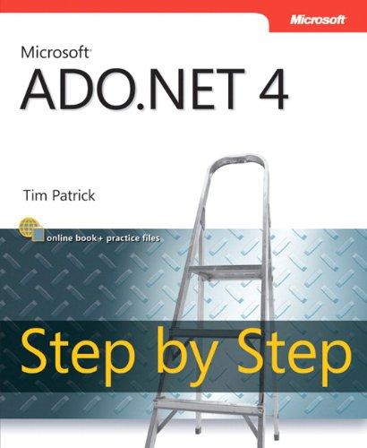 9780735638884: Microsoft ADO.NET 4 Step by Step