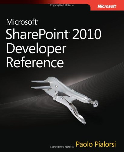 9780735639034: Microsoft® SharePoint® 2010 Developer Reference