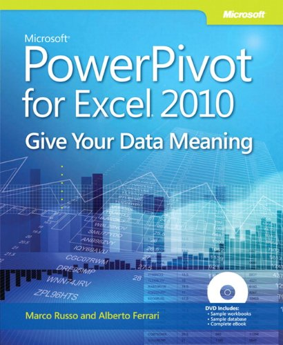 9780735640580: Microsoft PowerPivot for Excel 2010 Book/DVD Package