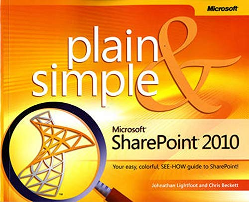 9780735642287: Microsoft SharePoint 2010 Plain & Simple