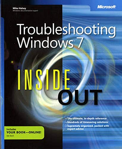 9780735645202: Troubleshooting Windows 7 Inside Out
