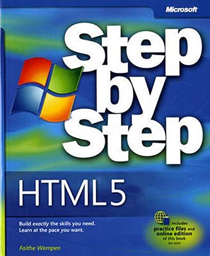 9780735645264: HTML5 Step by Step (Step by Step Developer)