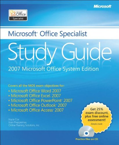 9780735649712: The Microsoft® Office Specialist Study Guide