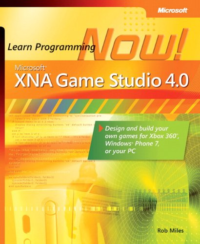 9780735651579: Microsoft® XNA® Game Studio 4.0: Learn Programming Now!: How to program for Windows Phone 7, Xbox 360, Zune devices, and more