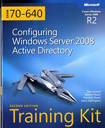 9780735651937: MCTS Self-Paced Training Kit (Exam 70-640): Configuring Windows Server 2008 Active Directory Book/CD Package, 2nd Edition
