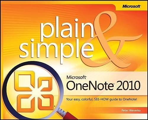 9780735660540: Microsoft OneNote 2010 Plain & Simple