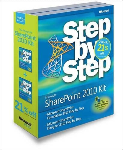 9780735660649: Microsoft® SharePoint® Step by Step Kit: Microsoft® SharePoint® Designer 2010 Step by Step & Microsoft® SharePoint® Foundation 2010 Step by Step