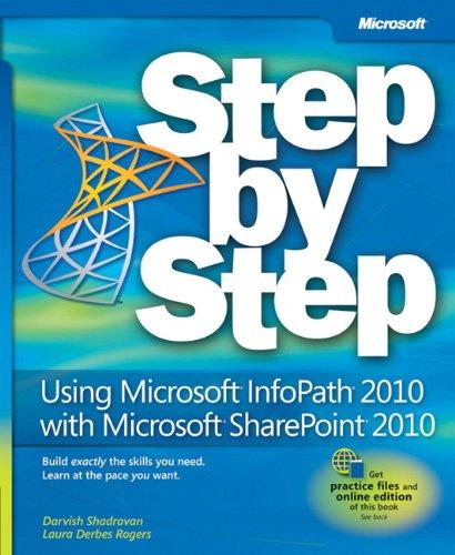 9780735662063: Using Microsoft InfoPath 2010 with Microsoft SharePoint 2010 Step by Step