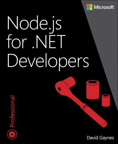 9780735662988: Node.js for .NET Developers (Developer Reference)