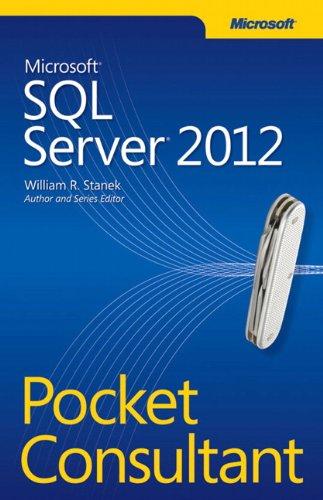 9780735663763: Microsoft SQL Server 2012 Pocket Consultant