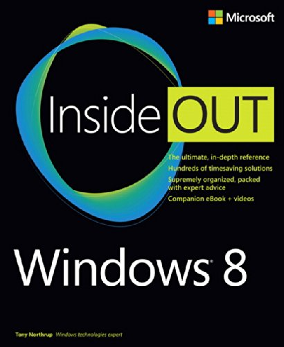 9780735663817: Windows 8 Inside Out