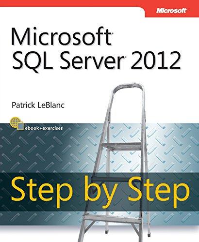 9780735663862: Microsoft SQL Server 2012 Step by Step (Step by Step Developer)