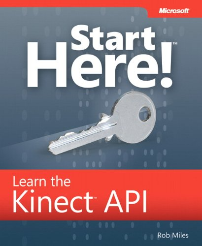 9780735663961: Start Here! Learn the Kinect API