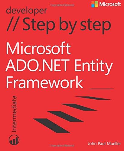 9780735664166: Microsoft ADO.NET Entity Framework Step by Step (Step by Step Developer)