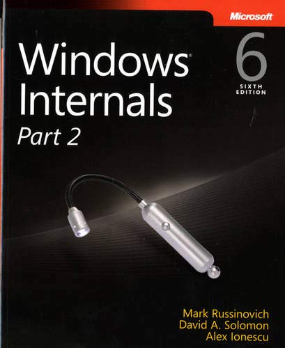 9780735665873: Windows Internals, Part 2 (6th Edition) (Developer Reference)